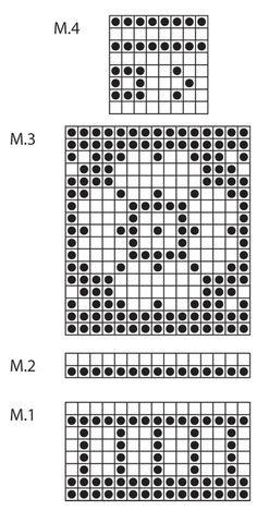 """DROPS 126-2 - DROPS pannebånd med mønster i """"Delight"""" og """"Fabel"""". - Free pattern by DROPS Design"""