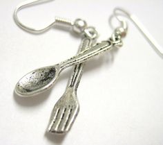 fork & spoon earrings