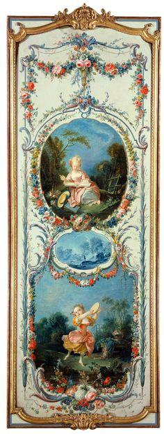 The Sleeping Shepherdess Lithograph Art Print Francois Boucher
