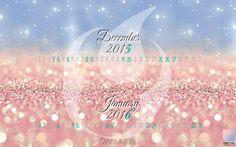 Nuovo calendario wallpaper dicembre '15 - gennaio '16. Facciamo brillare i nostri desktops!