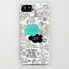 The Fault in Our Stars- John Green iPhone & iPod Case by Natasha Ramon - $35.00