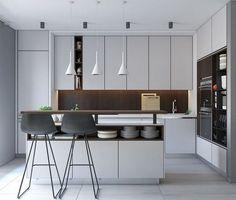 Modern Minimalist Kitchen Set Design Ideas_20