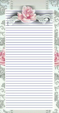 "Beautiful paper for, ""That Was My Child"" Notebook Paper Printable, Printable Lined Paper, Free Printable Stationery, Stationery Craft, Journal Paper, Journal Cards, Paper Cards, Diy Paper, Christmas Letterhead"