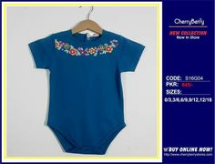 Infant printed body suit.