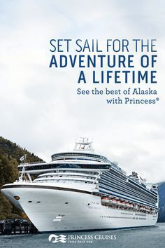 Princess Cruises is the only way to truly see and experience all the best the Great Land has to offer. On our Alaska cruises and cruisetours, you'll have the opportunity to witness Alaska's majestic glaciers, wildlife and national parks. Book your trip today.