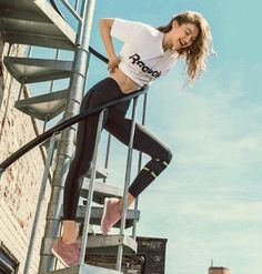 Gigi hadid for Reebok