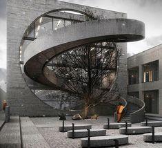 "23.9 mil Me gusta, 51 comentarios - Amazing Architecture (@amazing.architecture) en Instagram: ""Shannan Retreat by Iddqd Studio. #archiviz #render www.amazingarchitecture.com ✔️…"""