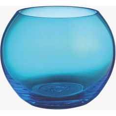 Boll Blue Glass Tea Light Holder
