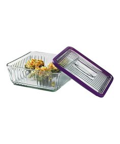 Loving this Eggplant 12-Cup Rectangular Storage Container & TrueSeal Lid on #zulily! #zulilyfinds