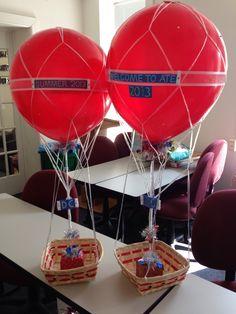 hot air balloon basket dc candy drops llc pinterest hot air