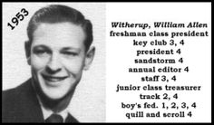 Bill Witherup | Bill Witherup - 1953