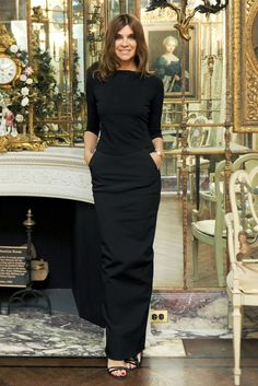"Bastille-Day Babes! 8 French Style Icons #refinery29  http://www.refinery29.com/chic-french-women#slide6  Carine Roitfeld, 1954 Hard to believe this lady is a grandma! The former EIC of French Vogue — and longtime muse to Tom Ford — ushered in an extreme, sexy style that Roitfeld herself dubbed, ""porno chic."" These totally audacious, NSFW images not only increased the magazine's circ numbers during a recession but landed Carine in the style hall of fame as someone always willing to push the…"