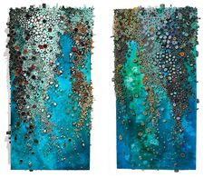 Intricate Textured Paintings Resemble Coral Reefs - My Modern Metropolis
