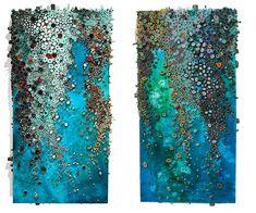 Intricate Textured Paintings Resemble Coral Reefs - My Modern Metropolis