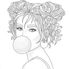 People Coloring Pages, Sailor Moon Coloring Pages, Free Adult Coloring Pages, Adult Coloring Book Pages, Coloring Pages For Girls, Coloring Pages To Print, Free Printable Coloring Pages, Colouring Pages, Coloring Books