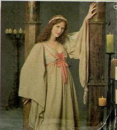 Renaissance Chemise Medieval SCA Gypsy Faerie by PaganPixieCrafts  $50