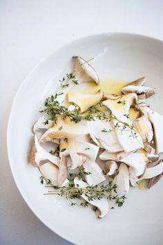 Trumpet Toast with Dorset Cheese + Thyme Recipe + Photos | Karen Mordechai