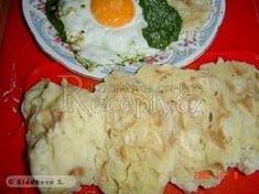 Třené houskové knedlíky (nekynuté) Mashed Potatoes, Grains, Meat, Chicken, Ethnic Recipes, Food, Whipped Potatoes, Smash Potatoes, Essen