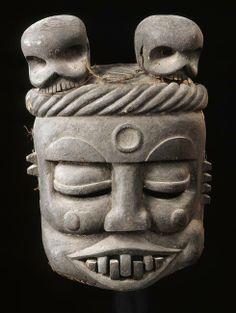 Masque Idiok Ekpo (esprit errant), Art Africain. Paris, musée du quai Branly African Masks, African Art, Ancient Mysteries, Mystique, Tribal Art, Ethnic, Sculpture, Statue, Costumes
