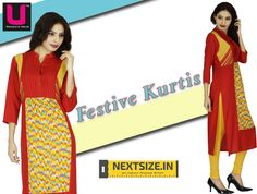#Traditional yet #modern! Checkout our cool collection of #kurtis here:http://nextsize.in/