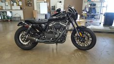 Sportster Models - 2016 Roadster photo dump/build thread - Figured I would collect the many photos I've taken in one big thread. :o This is bone stock after we unloaded her from the truck. Harley Roadster, Harley Davidson Forum, Bone Stock, Best Classic Cars, Photo Dump, Motorcycles, Building, Image, Art