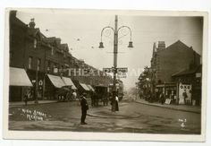 RP WIMBLEDON High Street MERTON Shops TRAM - Lamp Oil - OXO by YC London SW19 London Postcard, Old London, Wimbledon, Surrey, Old Pictures, Worlds Largest, Postcards, Shops, Street View
