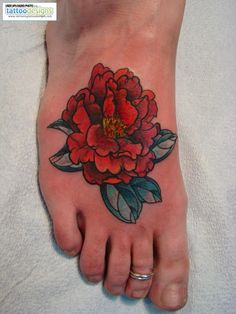 Peony. This would be a great cover-up.