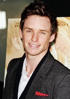 Eddie Redmayne... watch the yellow handkerchief then look at this picture!!
