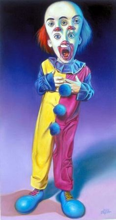 Clown Tripped by Ron English