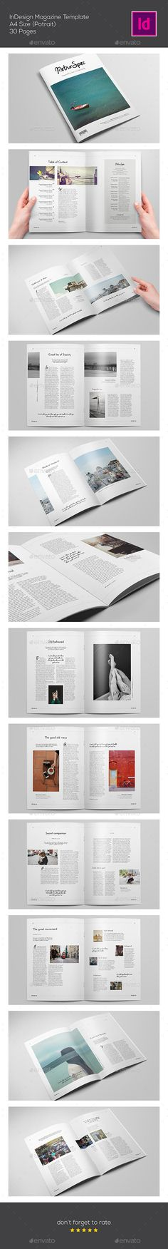 Clean Magazine Template