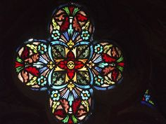 Stained glass, Matthias Church, Budapest. PICT2518 LR Edit by StevenC_in_NYC, via Flickr