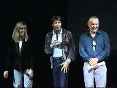 John Denver, Olivia Newton John, Anthony Zerbe, & Joe Henry at the 1991 Windstar Choices Symposium - YouTube