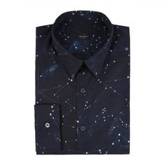 via wickedgirlssavingourselves:  Shirt with constellations on it.