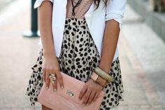 dalmatian dots + pastel pink