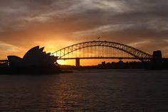 Sunset Sydney Bom