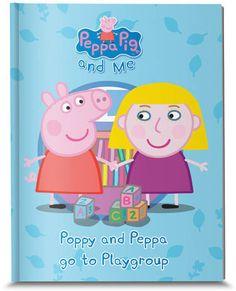 Personalised Peppa Pig book