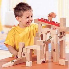 De grote startset van de haba knikkerbaan biedt de kinderen uren speelplezier!