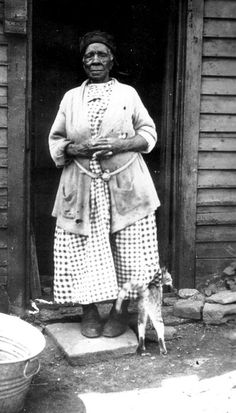 Photograph of Angeline Lester, an ex-slave who lived Youngstown, Mahoning County, Ohio, District 5.