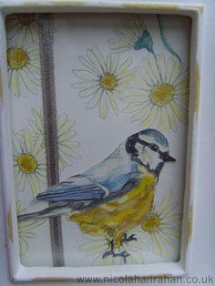 nicola hanrahan Bird Art, Bird Feathers, Creatures, Birds, Painting, Painting Art, Bird, Paintings, Painted Canvas