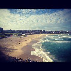 A good day to swim at Bondi Beach #australia #sydney #photos #bondi #bondibeach #beach #coast #swim - @mekeltan- #webstagram #Sydney