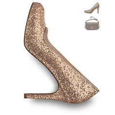 Art.-Nr.: 22441  #tamaris #pumps #gold #celebration #style #fall #winter #christmas #festive #seasonal