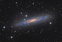 Floating Metropolis - NGC 253. (Image: Michael Sidonio, Highly Commended) This galaxy was discovered in 1783 by Caroline Herschel and is also known as the Silver Dollar Galaxy.