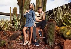 Jessica Goicoechea and River Viiperi sport the latest footwear from Refresh Shoes for its spring-summer 2019 campaign. Spring Shoes, Summer Shoes, River Sports, River Viiperi, Veronica, Cute Couples, Girlfriends, Stylists, Spring Summer