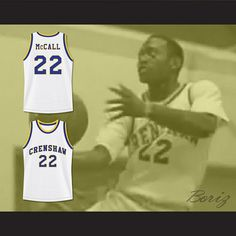 233ae5e65c08 Quincy McCall 22 Crenshaw High School Basketball Jersey