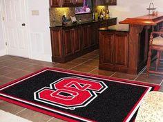 North Carolina State University 5x8 Rug