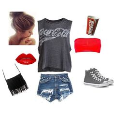 Coca Cola (girls,dress,girl,fashion,style,clothes,polyvore,our picks)