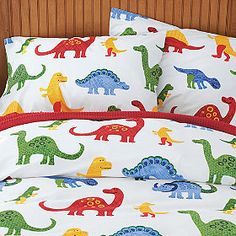 dino comforter setkas kids, 100% cotton - bed bath & beyond