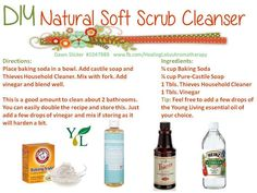 Young Living Essential Oils: Soft Scrub Cleanser