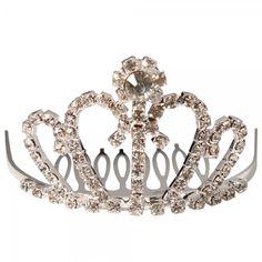 Corona Tiara Diadema Peine Nupcial Novia Boda Diamante de Imitación 08# es.tmart.com #corona #tiara #diadema #crown #novia #nupcial #wedding #boda #fiesta #evento #queen #princesa #princess #reina #moda #belleza #beauty #plata #birthdayparty #makeupparty #party #regalo #gift #girl #wishlist #navidad #christmas #tmart #Tmart #joyas #joyeria #jewellery #pulsera #anillo #pendiente #collar #silver #oro #lujo #accesorios #bridal #headband #plata #comb #peine #haircomb #hair #pinza #pin