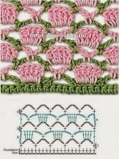 Watch This Video Beauteous Finished Make Crochet Look Like Knitting (the Waistcoat Stitch) Ideas. Amazing Make Crochet Look Like Knitting (the Waistcoat Stitch) Ideas. Crochet Stitches Chart, Crochet Motifs, Crochet Diagram, Knitting Stitches, Knitting Patterns, Crochet Patterns, Crochet Borders, Afghan Crochet, Blanket Patterns